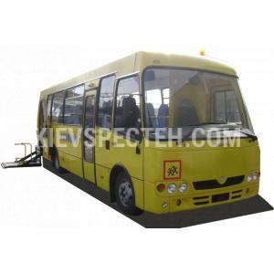 Специализированный школьный автобус с одним или двумя местами для школьников с ограниченной способностью к передвижению