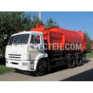 Сміттєвоз  з боковим завантаженням на шасі КАМАЗ-65115
