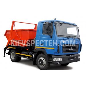 Портальний сміттєвоз МАЗ 4381 N2
