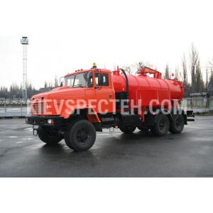 Илососная машина МВМ-41 на шасси КрАЗ-6322