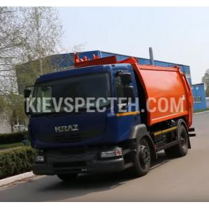 Сміттєвоз з боковим завантаженням на шасі КрАЗ-5401H2
