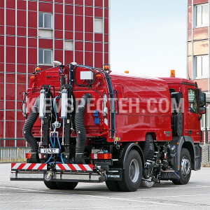 Підмітально- прибиральна машина FAUN VIAJET 7