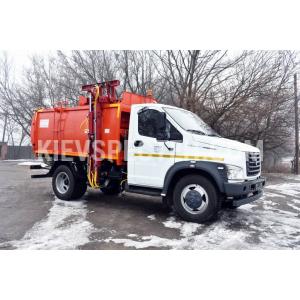 Сміттєвоз з боковим завантаженням  на шасі ГАЗ С41R13