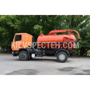 Илососная машина МВМ-10 на шасси  МАЗ-4381