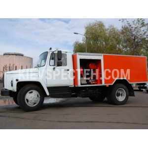Машина каналопромивочна на базі ГАЗ 3309