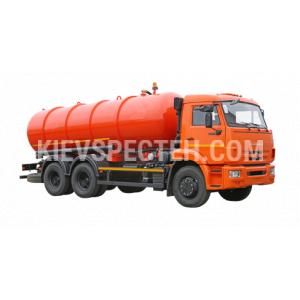 Вакуумна машина МВ-16 на шасі КАМАЗ-65115