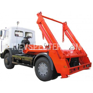 Портальний сміттєвоз МАЗ-5550
