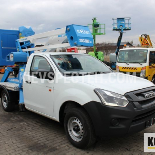 Автовишка Socage A314 на шасі ISUZU D-Max Satellite